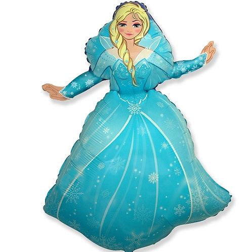 шар (39''/99 см) Фигура, Снежная принцесса