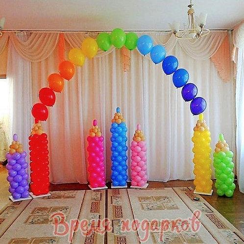 Оформление детских садов шарами №2
