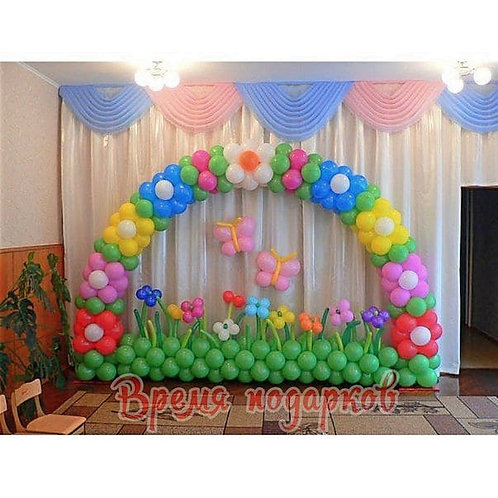 Оформление детских садов шарами №24