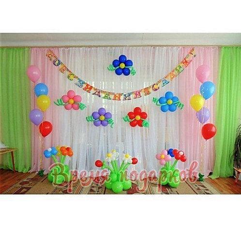 Оформление детских садов шарами №18