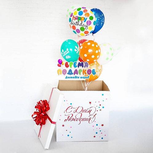 Коробка с шарами №35