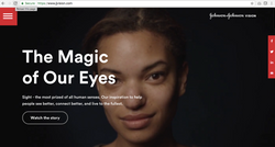 Johnson & Johnson Global Vision site