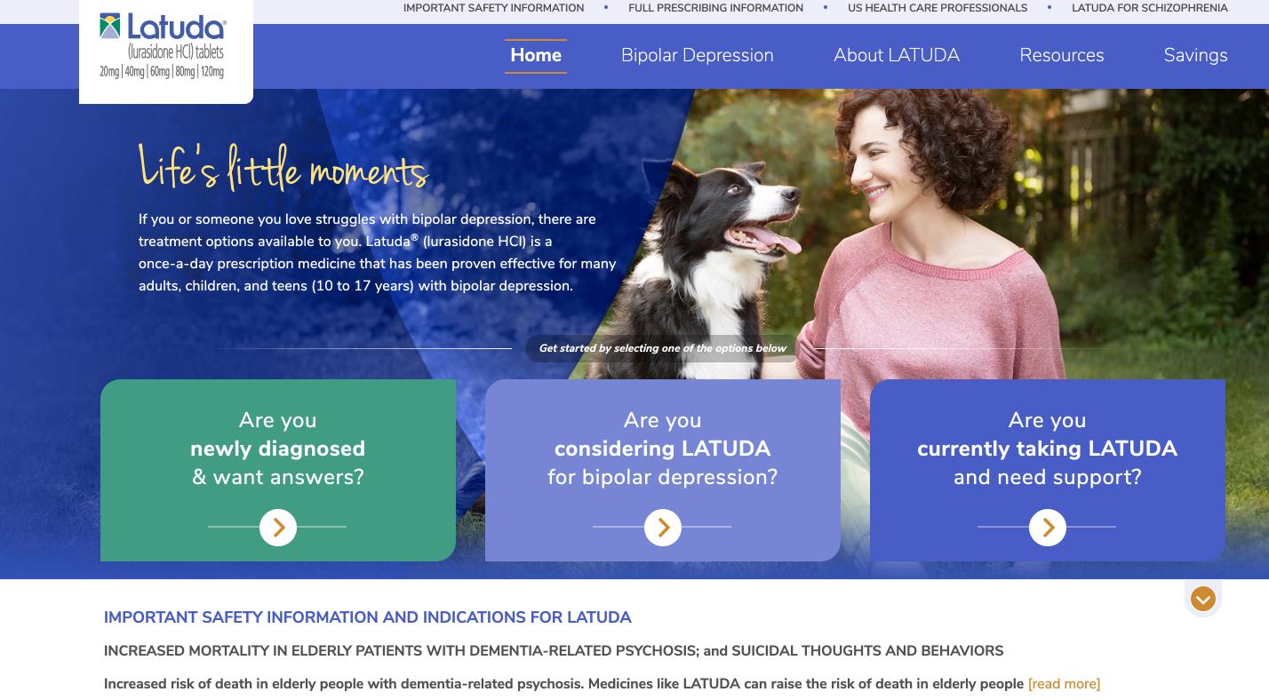 LATUDA.com
