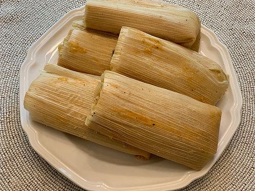 Vegetarian Tamales 1/2 Doz