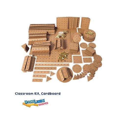 DazzLinks Shapes, Cardboard Classroom Kit