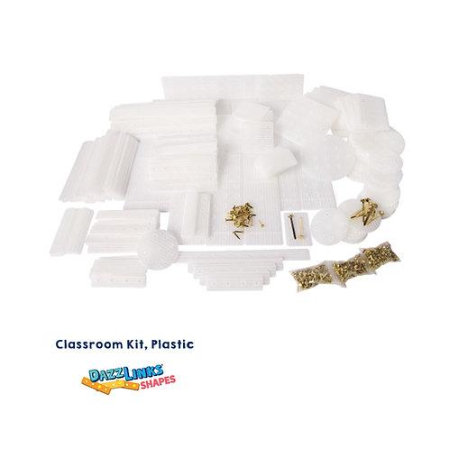 DazzLinks Shapes, Plastic Classroom Kit