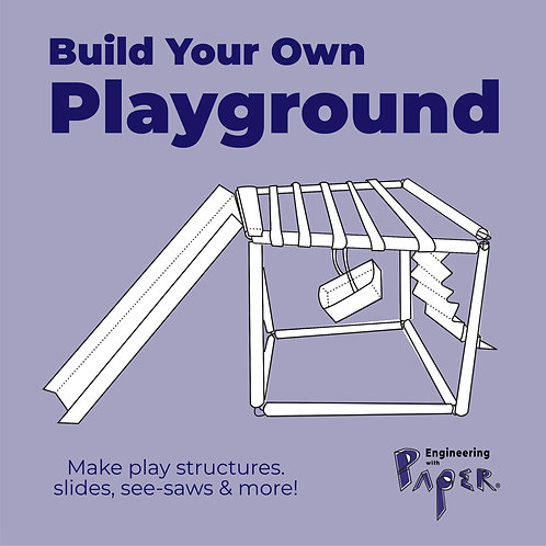 PLAYGROUND, Paper Straws, Engineering with Paper Project Packet