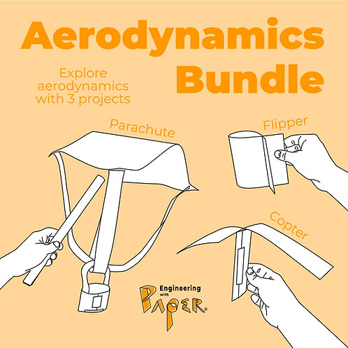 Aerodynamics Bundle: Parachute, Copter & Flipper