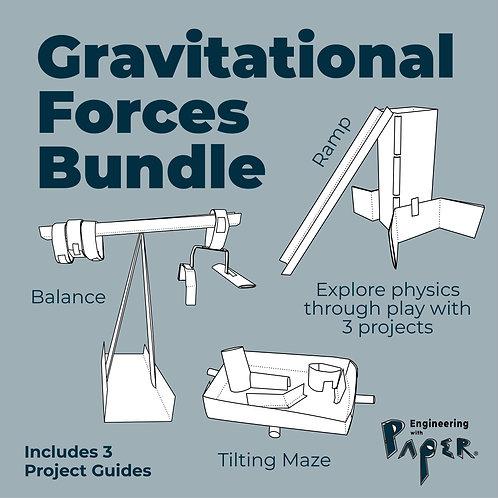 Gravitational Forces Bundle: Ramp, Balance & Tilting Maze