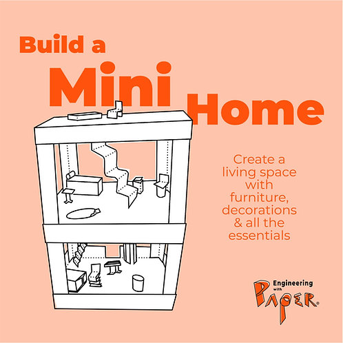 BUILD A HOME Engineering with Paper Project Packet
