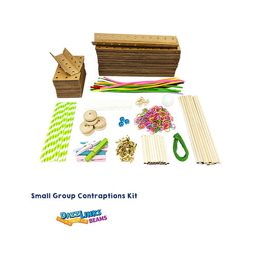 DazzLinks Beams, Small Group Contraptions Kit