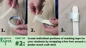 Tape. Here's how to use it better: #2