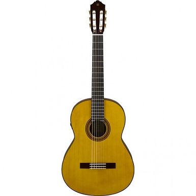 Yamaha CG-TA NT TransAcoustic — классическая гитара с нейлоновыми струнами