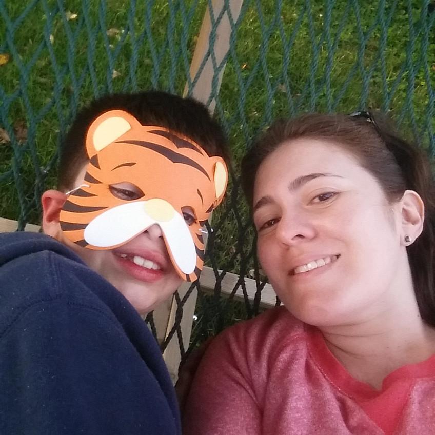 Chilling on the hammock
