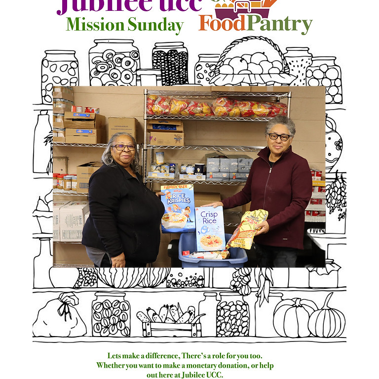 Jubilee UCC Mission Food Pantry