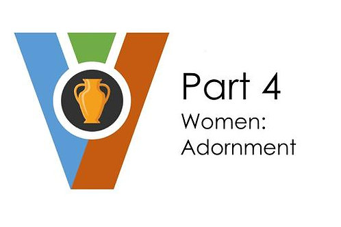 (Audio Download) Vessels of Honor Part 4 - Women: Adornment