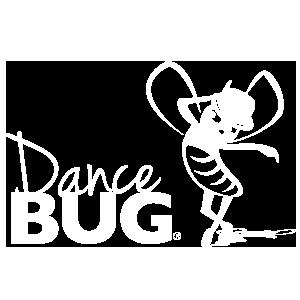 DanceBUG (Web - White Logo - Transparent