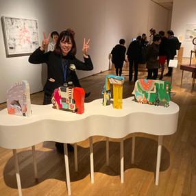 高井碧さんコミテコルベールアワード2019 ファイナリストとして展示
