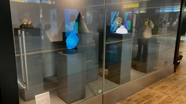 木下裕司さんのメトロ文化財団賞受賞作品が銀座にて展示されています