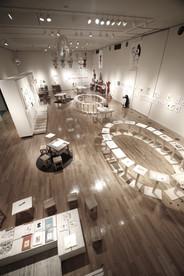 さかざきちはる おしごと展2017空間デザイン