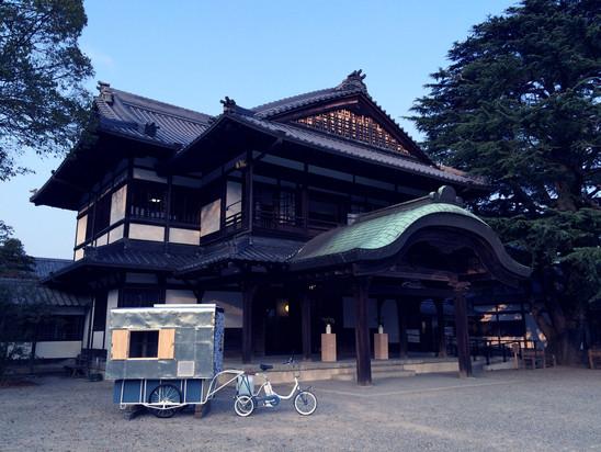 移動式茶室「幸庵-弐号」MOBILE TEA HOUSE KO-AN NO.2
