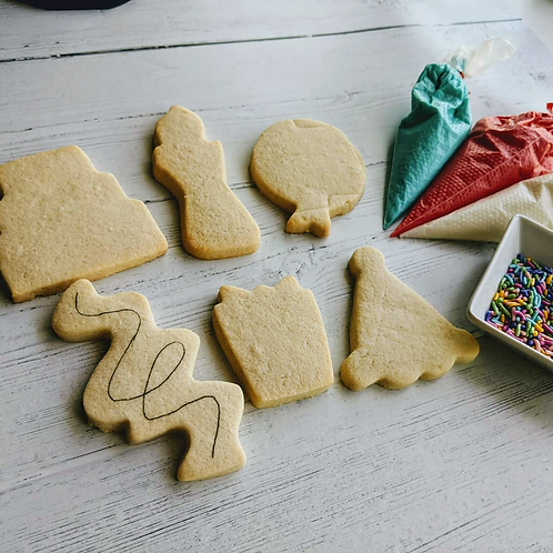 Birthday Cookie Kit (New Shapes!)