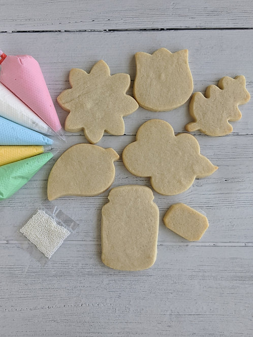 Mother's Day Cookie Kit-Bouquet