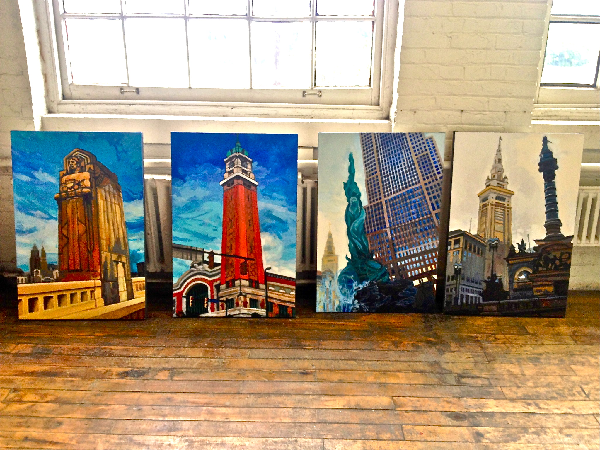 Cleveland Icon Paintings