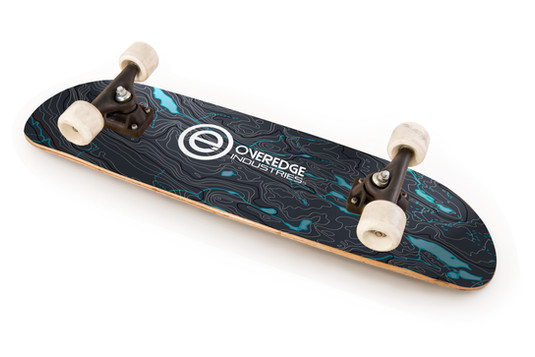Overedge Skate Board WY Topo