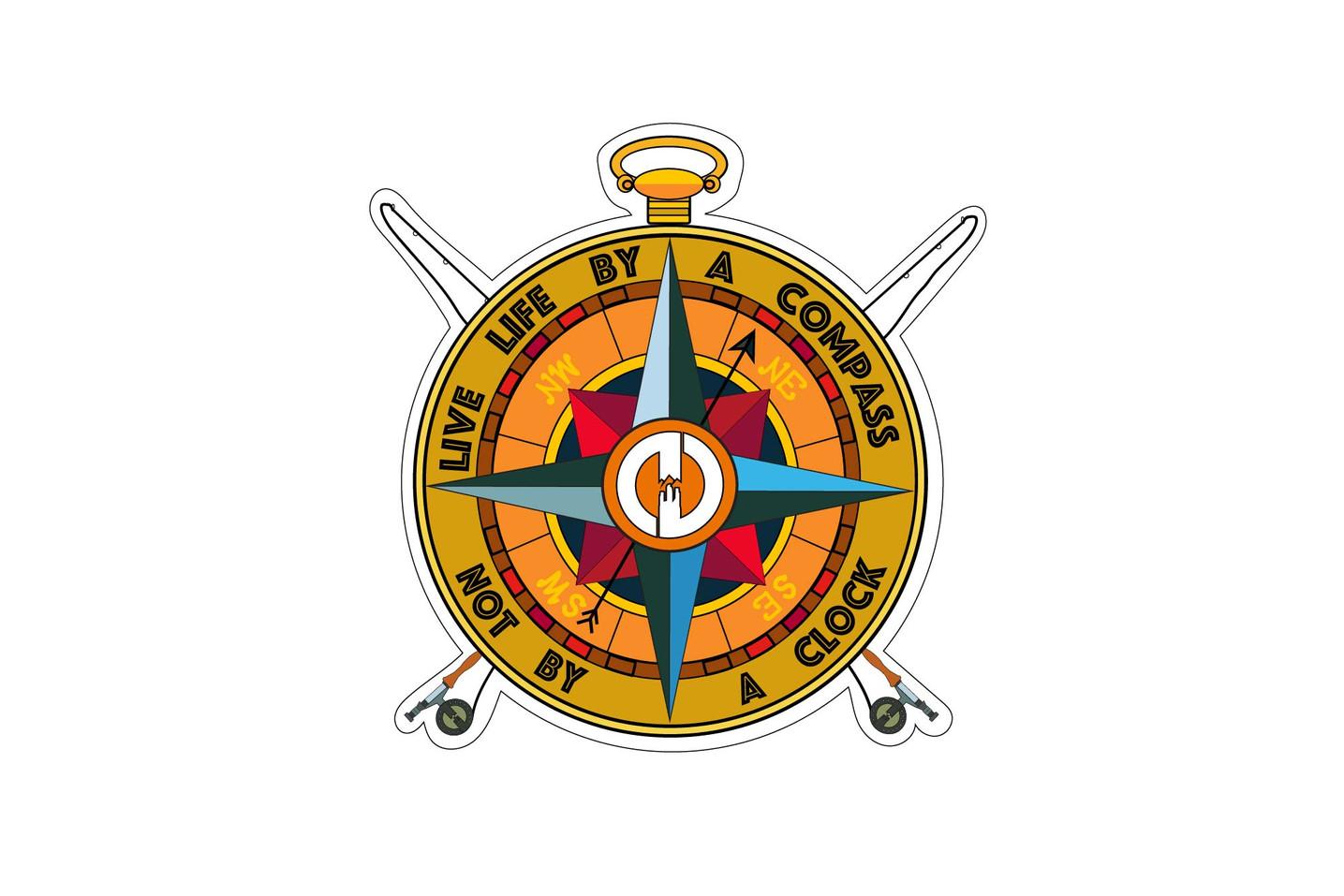DO Compass Decal