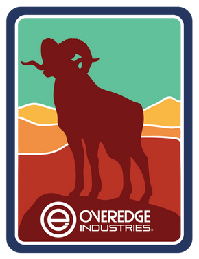 Overedge Ram Decal