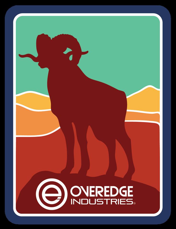 Overedge Ram Decal