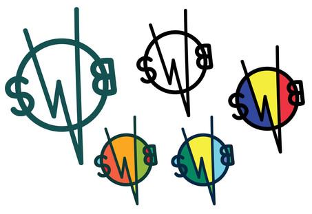 SWBLVD Logo Color Options