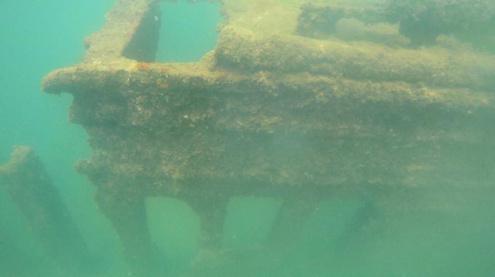 Ship Wreck at Playa del Manuel Antonio