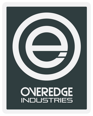 Overedge Dark Grey Rec Decal