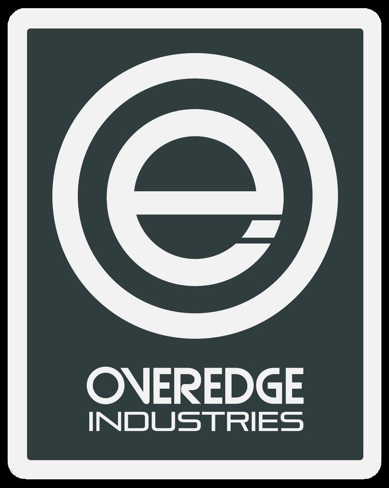 Overedge Dark Grey Rec Decal
