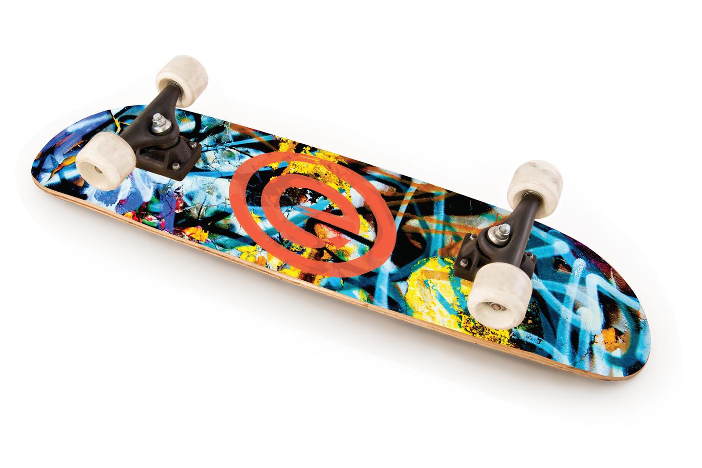 Overedge Skateboard Graffiti