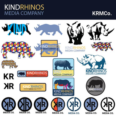 KindRhinosMedia Co Logo Iteration