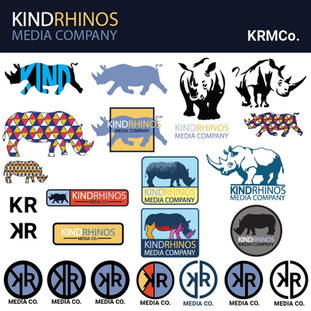 KindRhinosMedia Co Logo Iteration