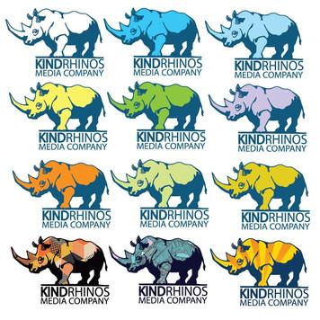 KINDRHINOS Media Co Color Logos