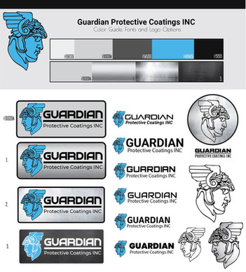 Guardian Protective Coatings INC Logo Iteration