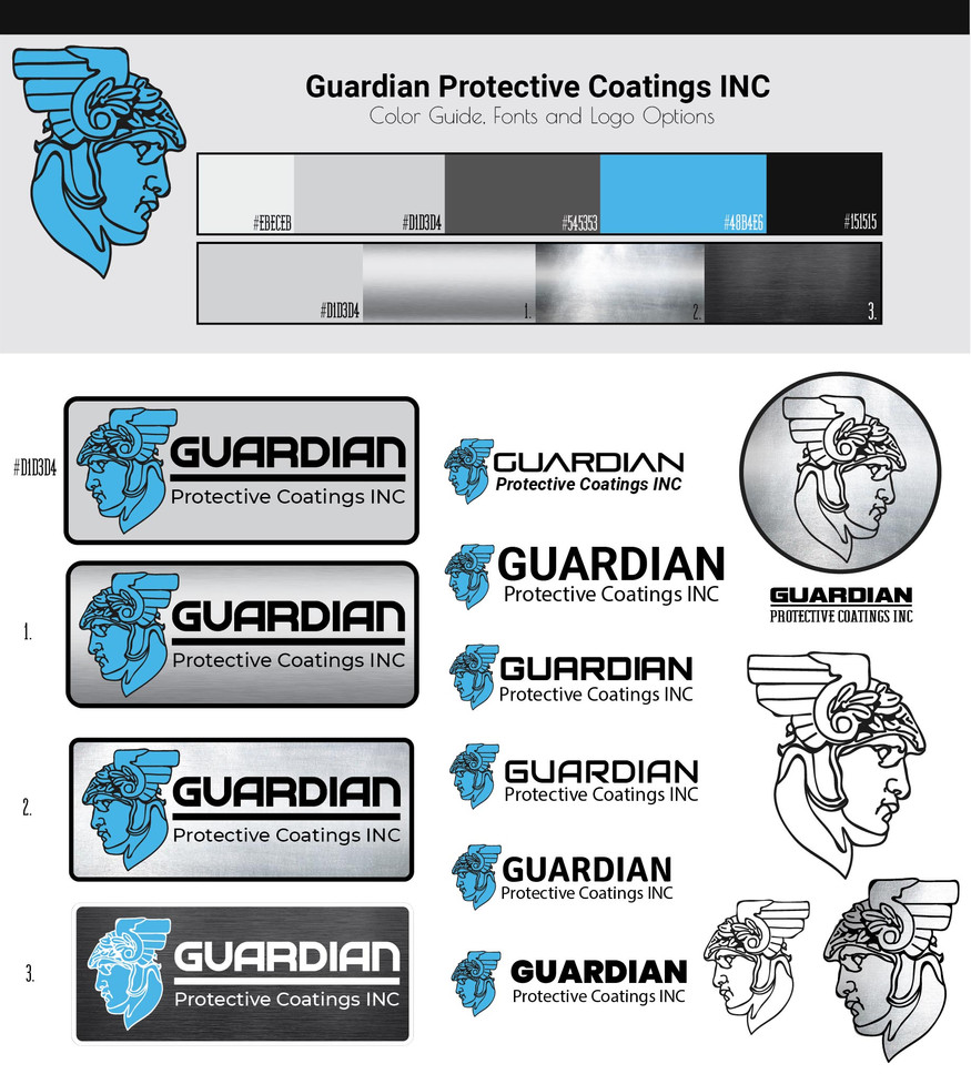 Guardian Protective Coatings INC Logo Iteration