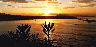 coucher de soleil Sainte barbe - Credit