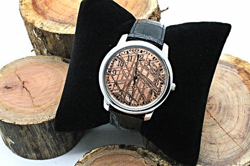 Men's Meteorite watch Rose Gold
