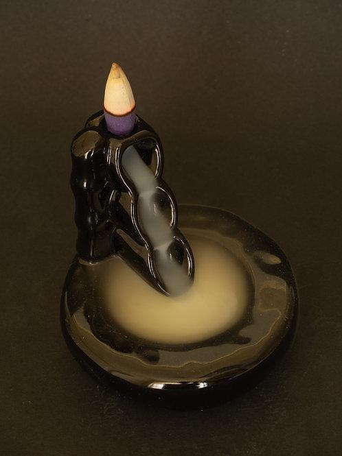Small Cascading Back flow Incense Burner