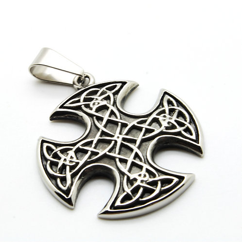 Stainless steel Maltese cross