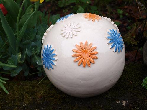 Keramik garten Kugel -  PORTO frei