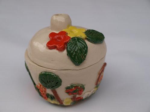 Räucher Häuschen - Keramik