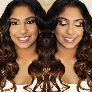 Loving Alina's hair and makeup trial 😍