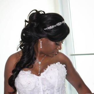 Elizabeth's Wedding #weddinghair #weddin